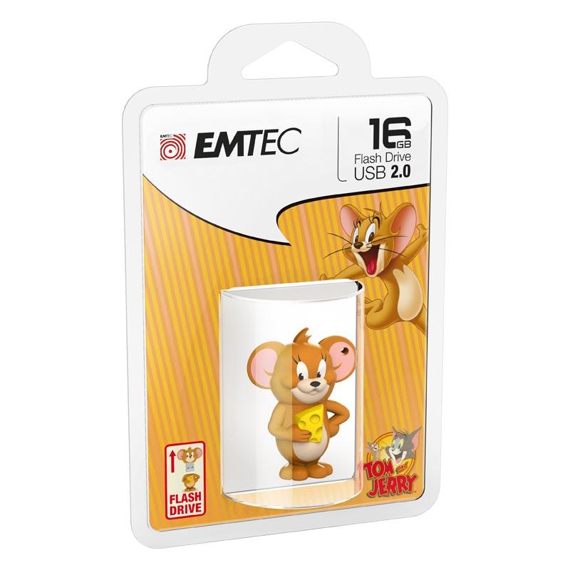 Pendrive 16GB Emtec 3D Jerry