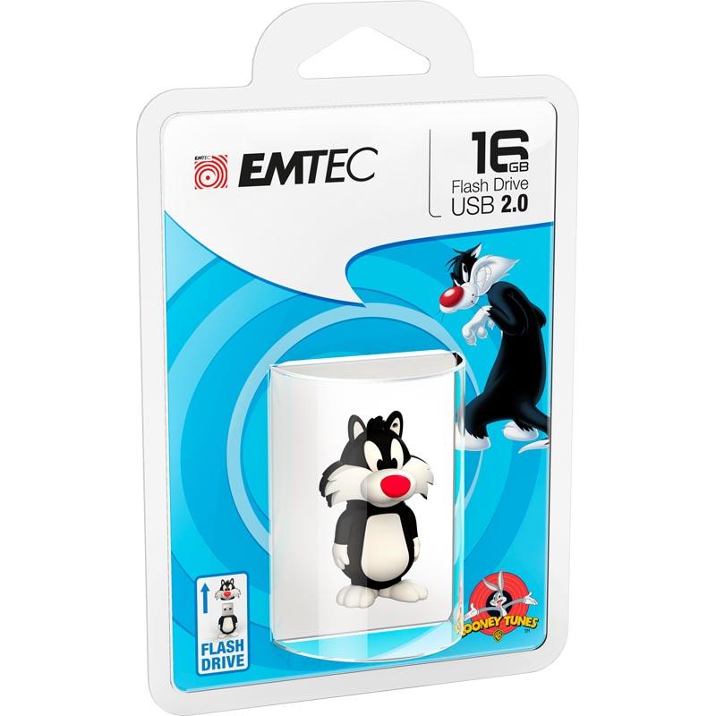 Pendrive 16GB Emtec 3D Sylvestre