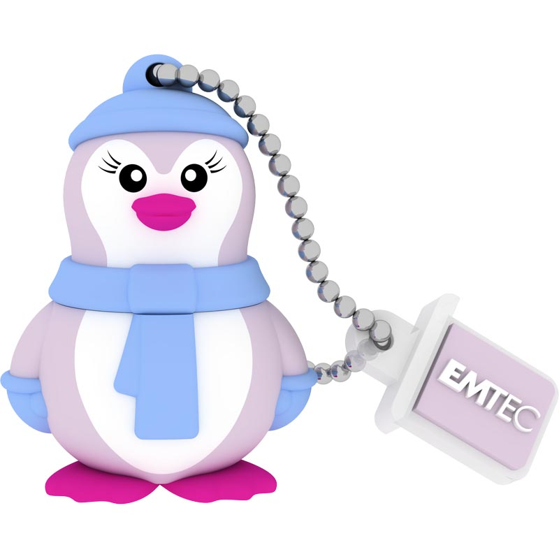 Pendrive 16GB Emtec 3D Miss Penguin