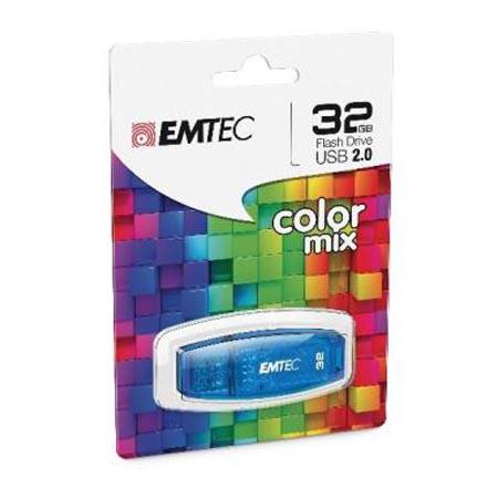 Pendrive 32GB Emtec C410 Color Mix