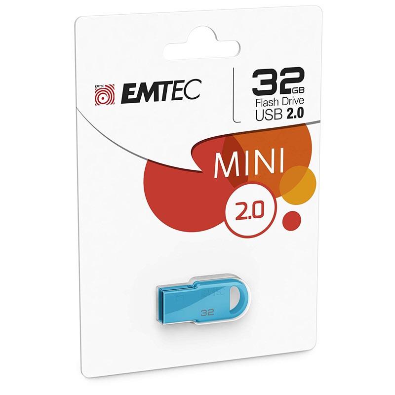 Pendrive 32GB Emtec D250 Mini - Colores Surtidos