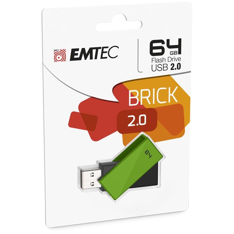 Pendrive 64GB Emtec C350 Brick
