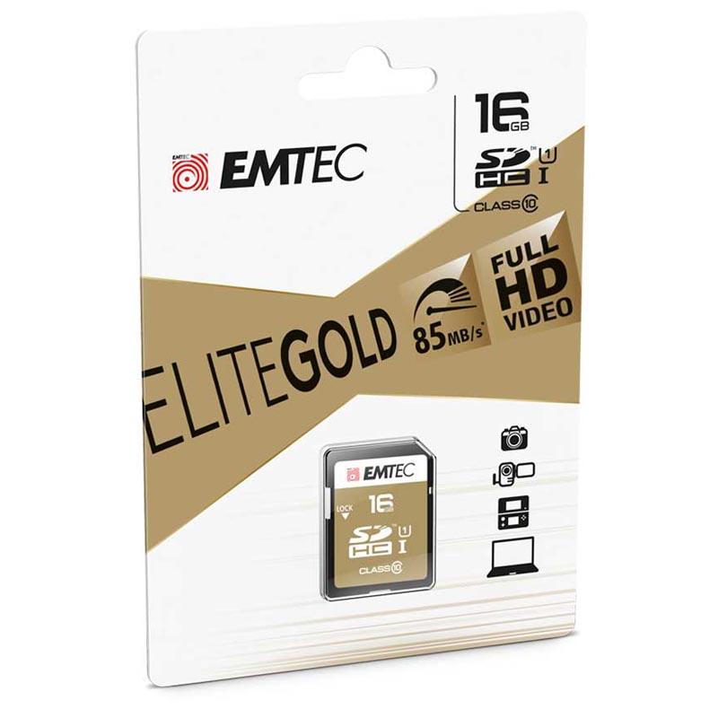 Emtec EliteGold SDHC 16GB Clase 10 UHS-I