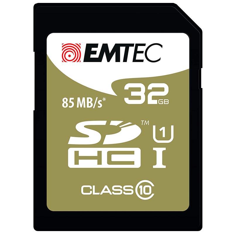 Emtec EliteGold SDHC 32GB Clase 10 UHS-I