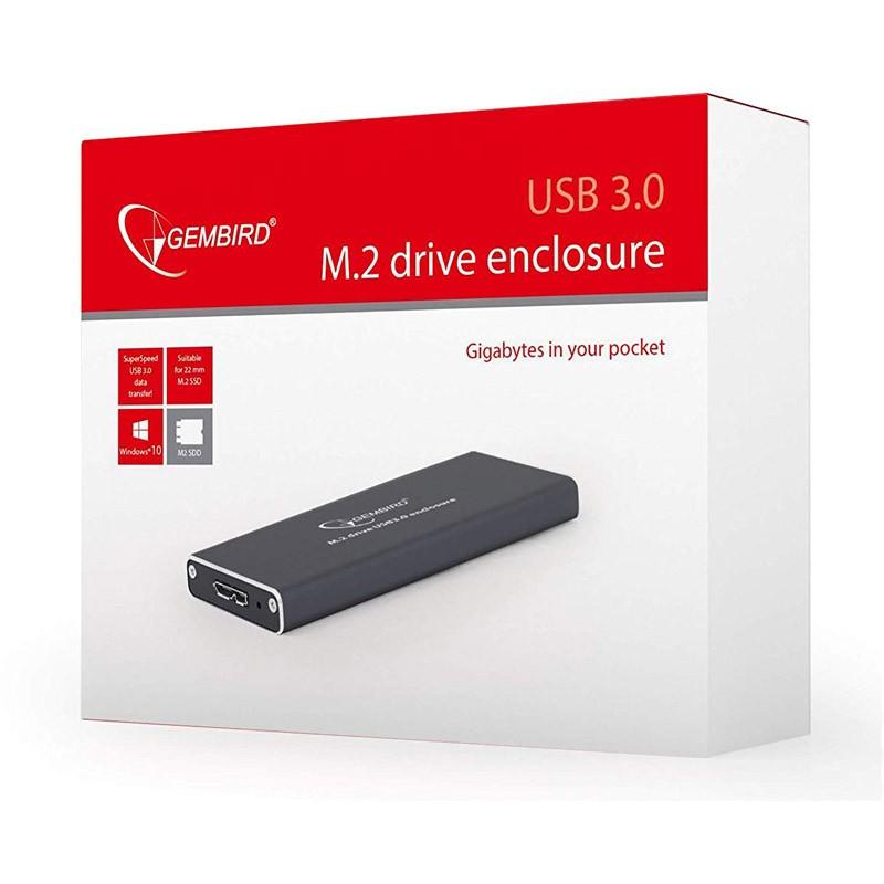 Caja Disco Duro SSD M.2 a USB 3.0 Gembird EE2280-U3C-01