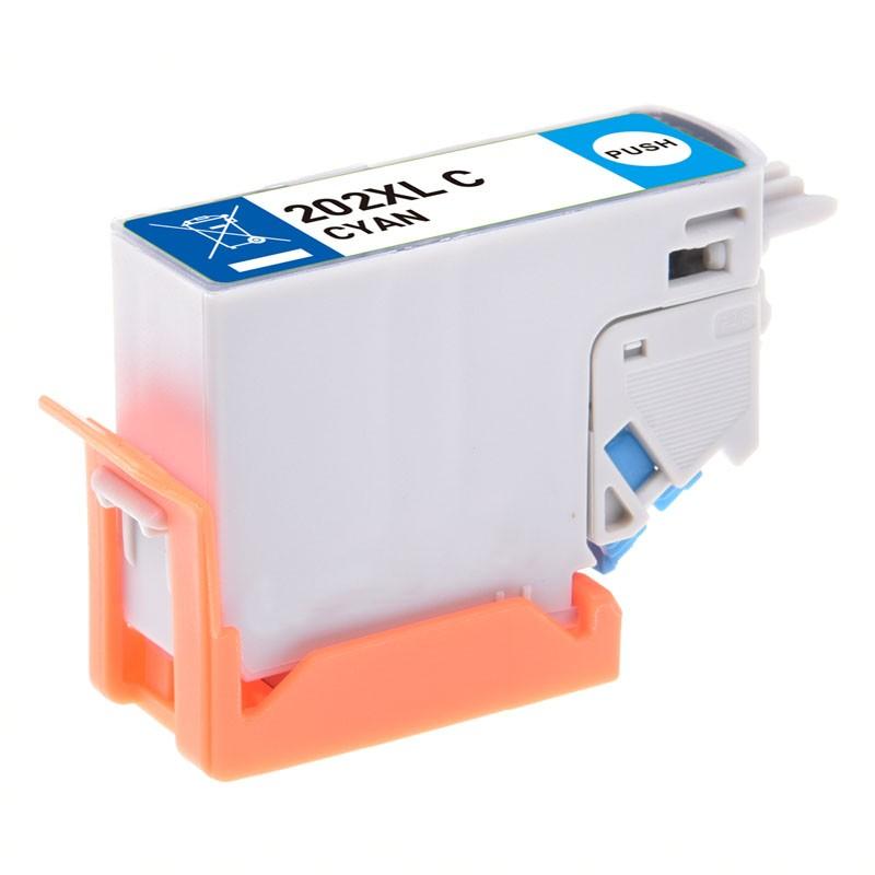 T02h2/t02f2 (202xl) cartucho de tinta compatible premium (cian)