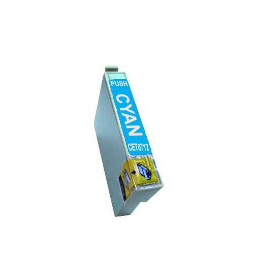 T0712 / T0892 Cartucho de Tinta Compatible Premium (Cian)