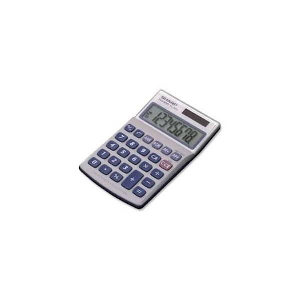 Calculadora de Bolsillo Sharp SH-EL240SAB - 8 Dígitos