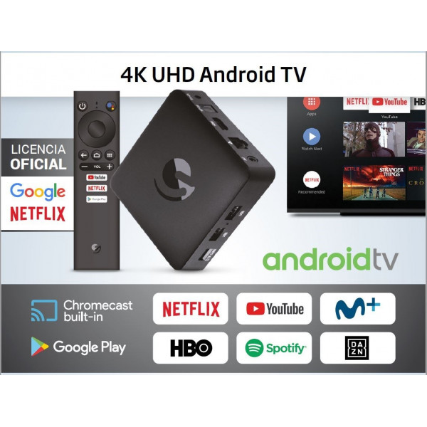 SmartTV / TV Box Engel EN1015K - Android TV / Chromecast / Google Assistant