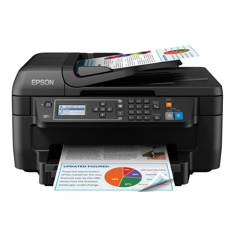 Impresora Multifunción Epson WorkForce 2750DWF Wifi / FAX