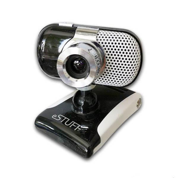 Webcam con Micrófono Incorporado eStuff Web Camera ES3004 8Mpx