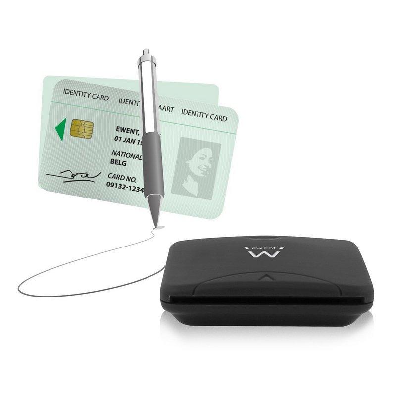 Lector Tarjetas USB2 DNI/Sanitaria eWent EW1052