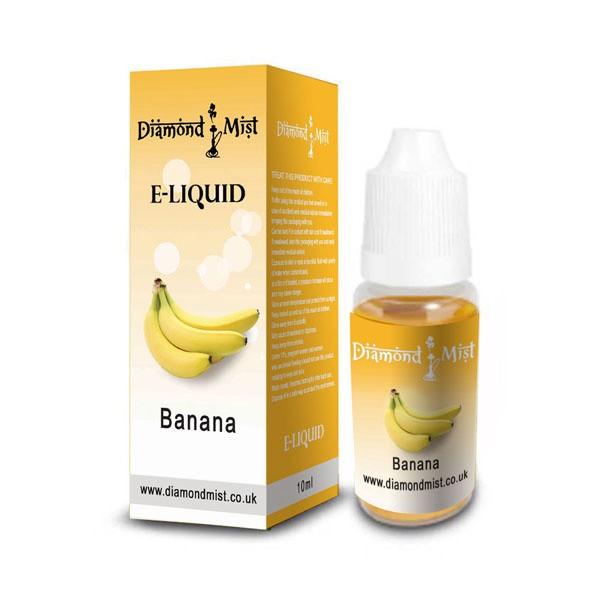 E-Liquid Diamond Mist Banana 12mg Nicotina (10ml)