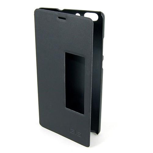 Elephone C1 Max Funda Tipo Libro Negro