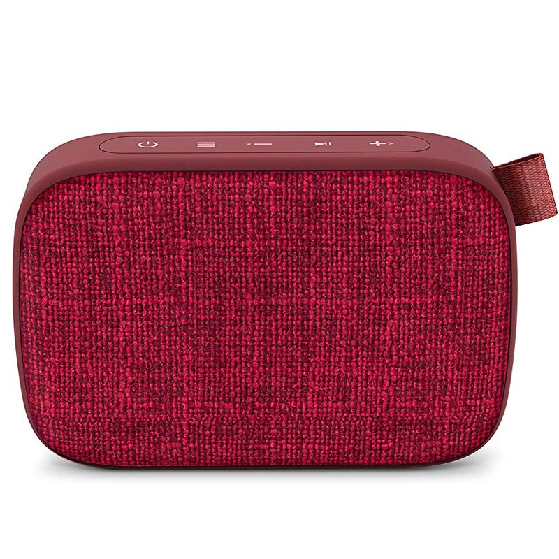 Altavoz Bluetooth Energy Fabric Box 1+ Pocket Cherry