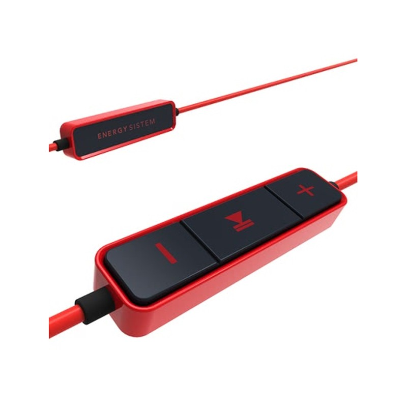 Auriculares Bluetooth con Micrófono Energy Earphones 1 Bluetooth Rojo