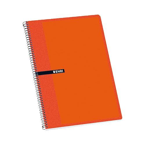 Cuaderno Espiral Enri Folio Pautado 80H 100430106