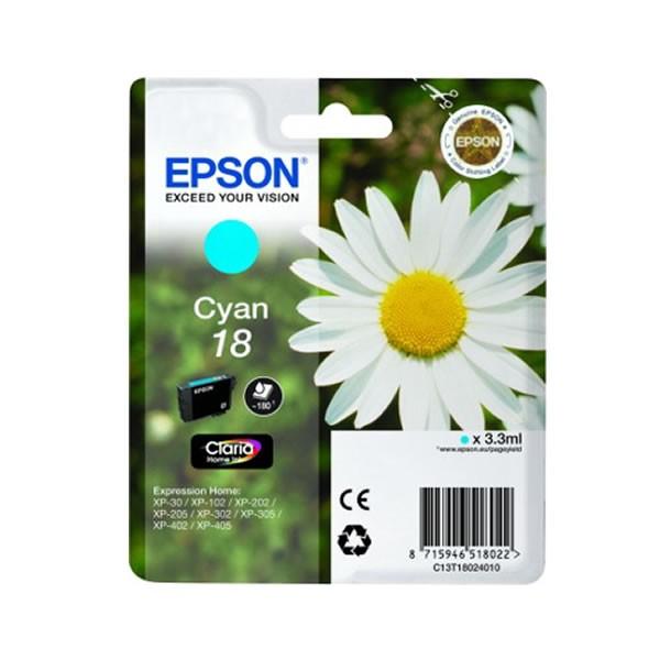 Epson 18C Cartucho de Tinta Original Cian