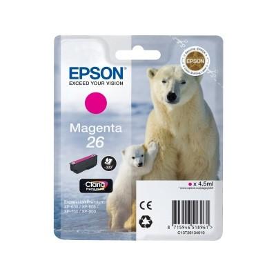 Epson 26 Cartucho de Tinta Original Magenta