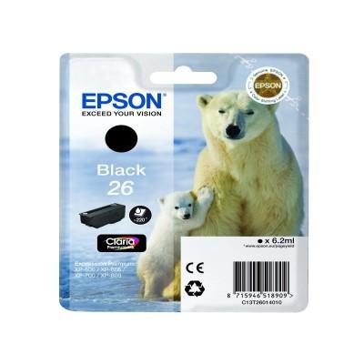 Epson 26 Cartucho de Tinta Original Negro