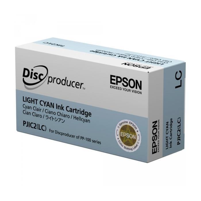 Epson PJIC2(LC) PP-100 Cartucho de Tinta Original Cian Claro