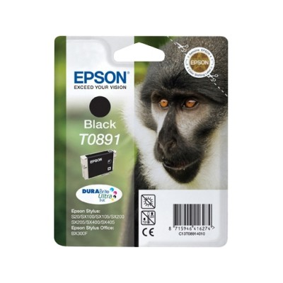 Epson T0891 Cartucho de Tinta Original Negro