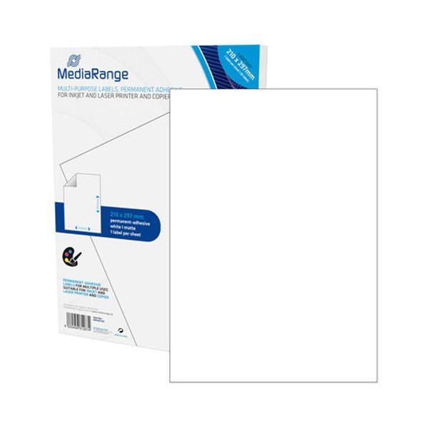 Etiquetas Adhesivas MediaRange 210x297 50H