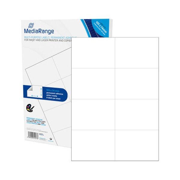 Etiquetas Adhesivas MediaRange 105x74 - 400 uds