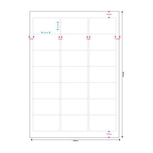 Etiquetas Adhesivas MediaRange 63.5x38.1 - 1050 uds
