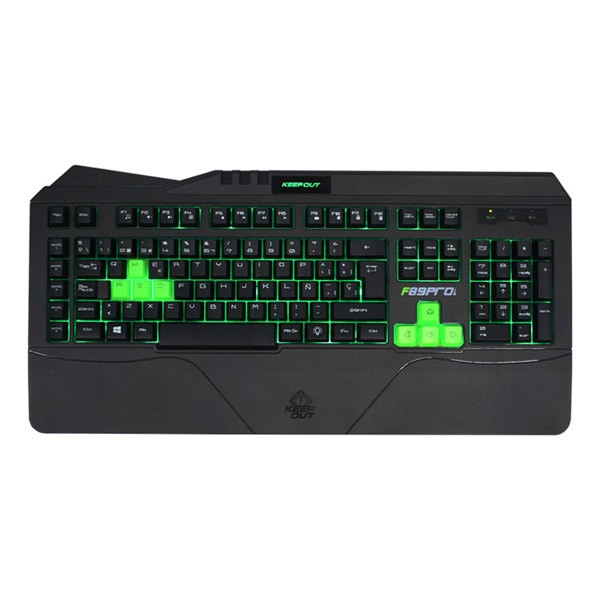 Teclado Gaming KeepOut F89PRO