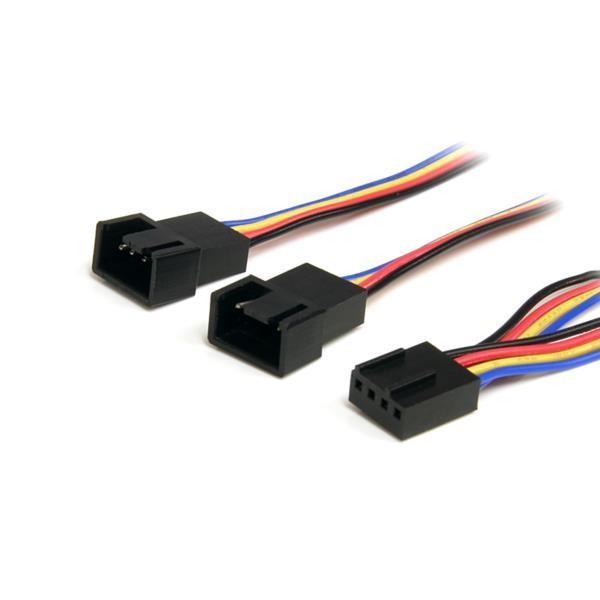 Cable Divisor de Alimentación para Ventilador 4 Pines- H/M