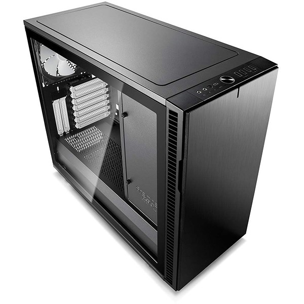 Caja PC ATX Fractal Define R6 USB-C Black - TG con Ventana