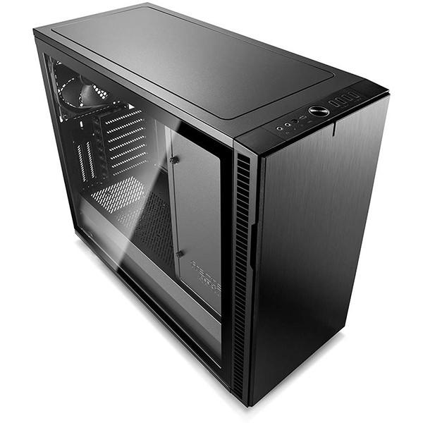 Caja PC ATX Fractal Define R6 USB-C Blackout con Ventana