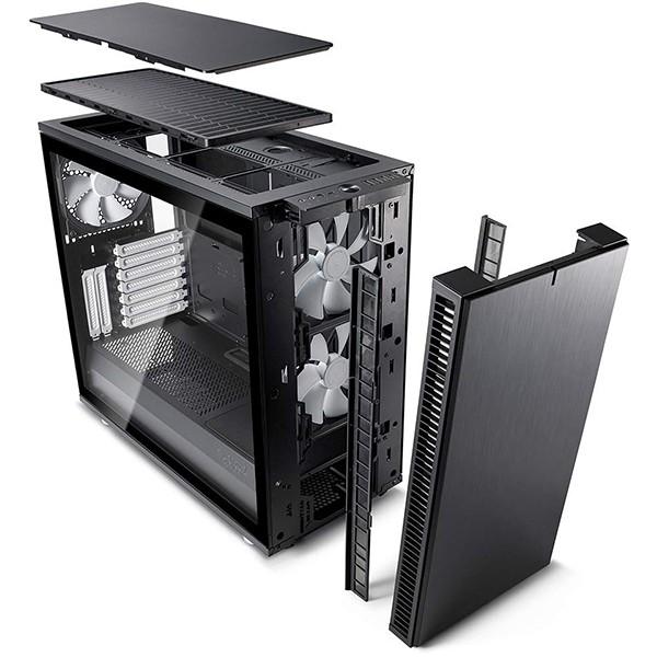 Caja PC E-ATX Fractal Define S2 Black - TG