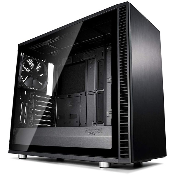 Caja PC E-ATX Fractal Define S2 Blackout Black - TG