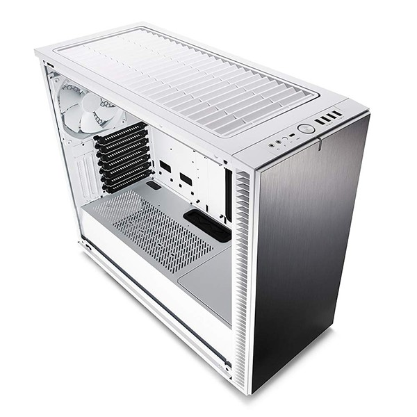Caja PC ATX Fractal Define S2 Gunmetal - TG Blanca