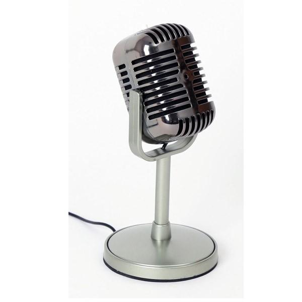 Microfono de Mesa Estilo Retro Freestyle