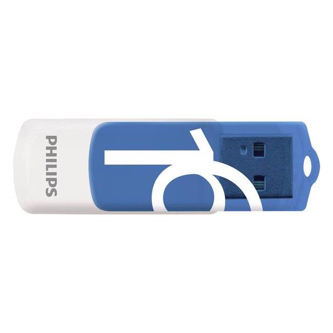 Pendrive 16GB Philips Vivid Edition Blue