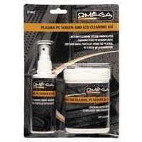 Omega Kit Limpieza Plasma-LCD Spray & Toallitas