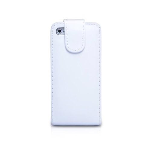 iphone 5 iqwo funda libro blanco
