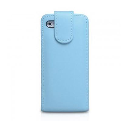 iphone 5 iqwo funda libro azul