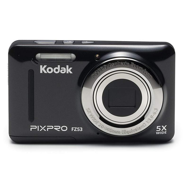 Cámara Digital Kodak Pixpro FZ53 Negra - 16MPX