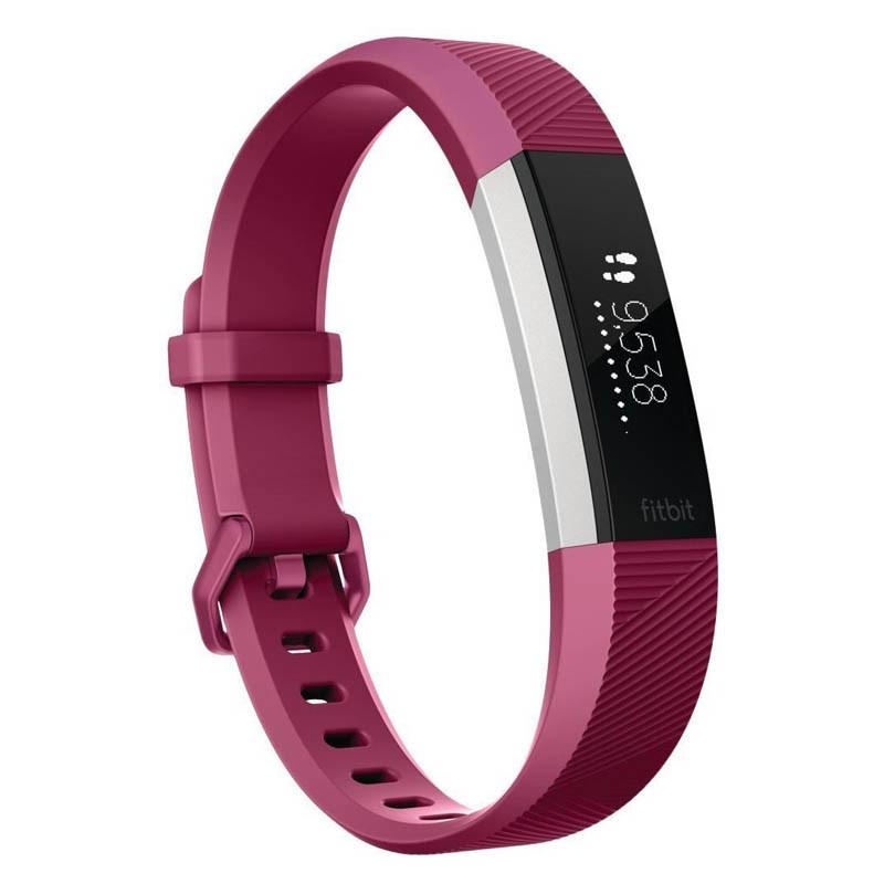 Pulsera de Actividad Fitbit Alta HR Fucsia Pequeña