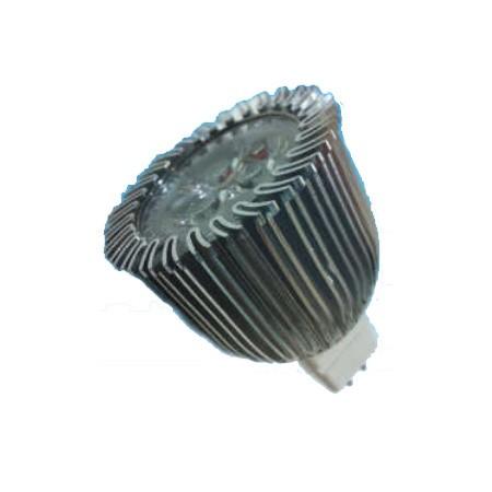 Foco led bajo consumo 6w 50w 12v mr16 6400k - Halogenos led bajo consumo ...
