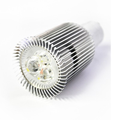 Foco led bajo consumo 8w 60w 12v mr16 3000k - Halogenos led bajo consumo ...