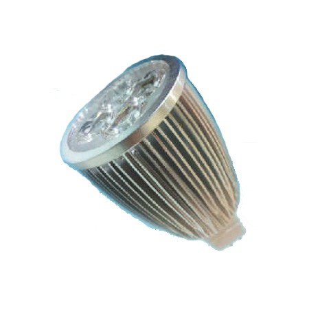Foco led bajo consumo 8w 80w 12v mr16 3000k - Halogenos led bajo consumo ...