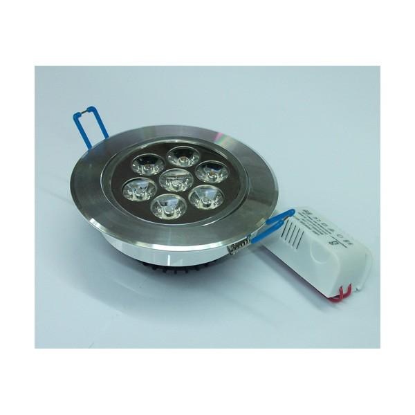 Foco Techo LED 7W(70W) 3000k