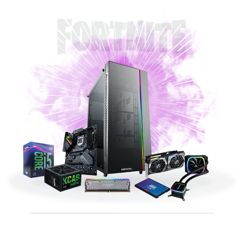 PC Gaming FORTNITE ADVANCED i5-9400F 16GB 480GB SSD GTX1660