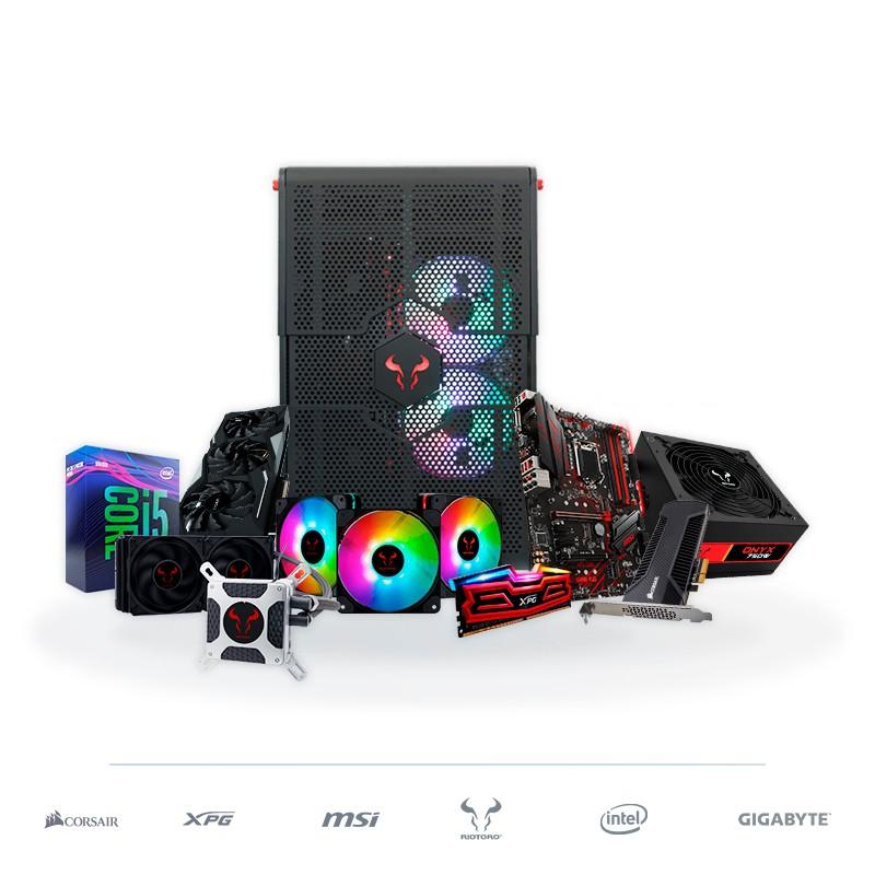 PC Gaming RIOTORO i5-9600K 16GB 400GB RTX1660 TI 6GB