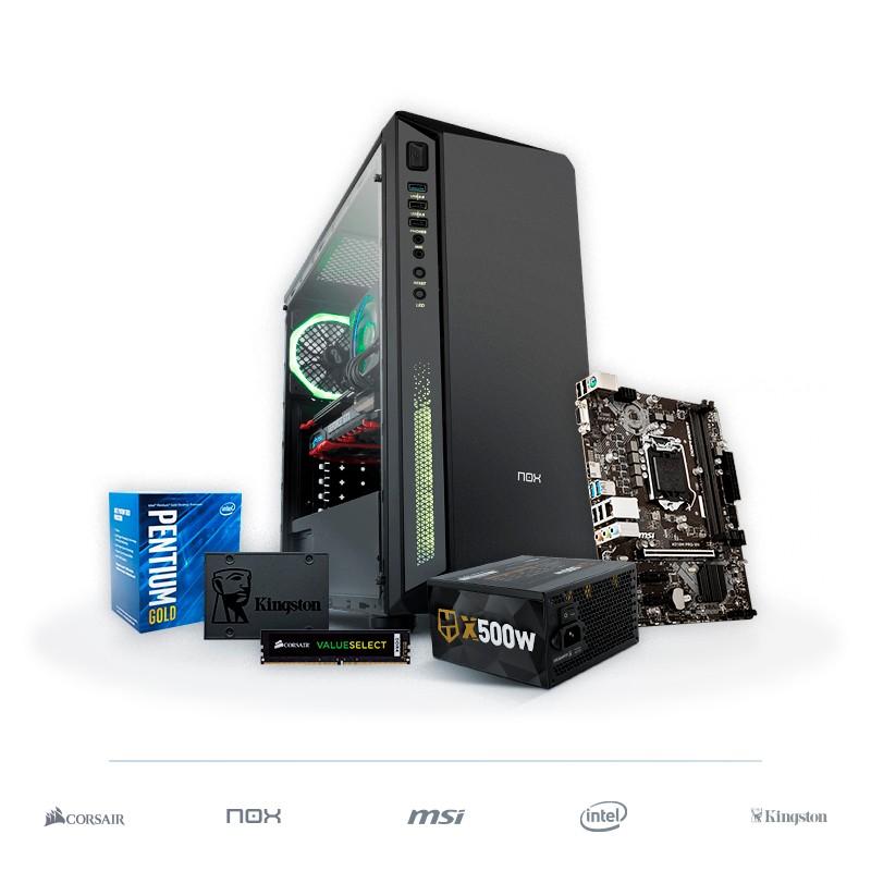 PC DRAKE Pentium Gold G5400 8GB 480GB SSD v1.1